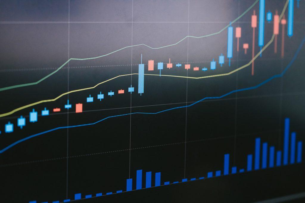 株価のロウソク足チャート