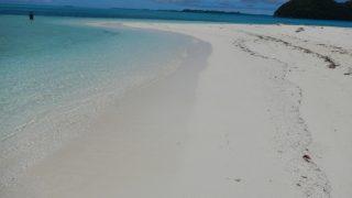 パラオの美しいビーチ