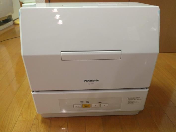 パナソニック食器洗い乾燥機NP-TCM4の外観