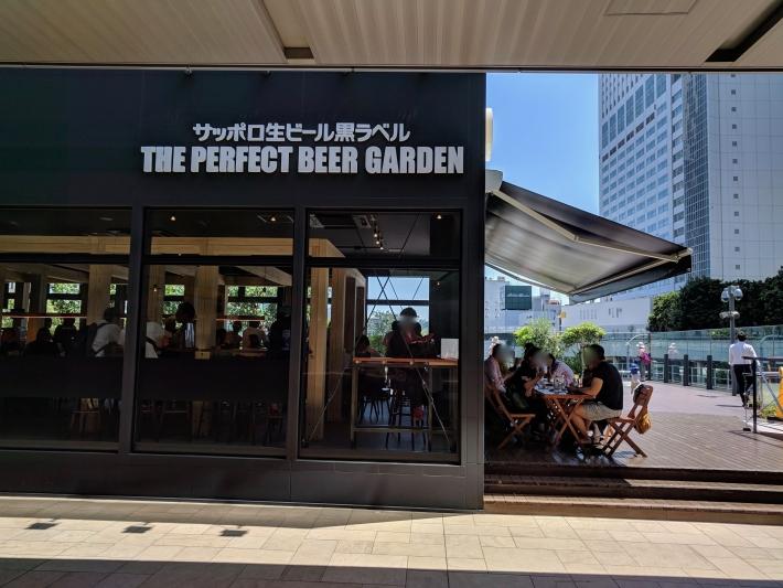 Perfect Beer Garden新宿のテラス席