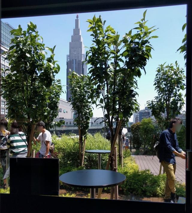 Perfect Beer Garden新宿からの景色