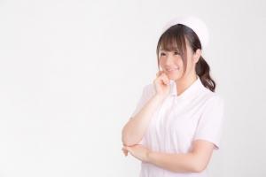 微笑む白衣の天使