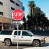アメリカの一方通行の標識