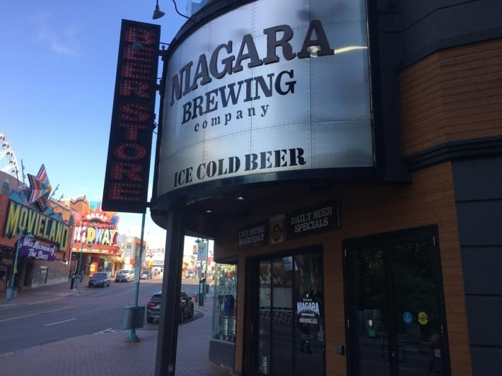 ビールが美味しいNiagara Brewing Company