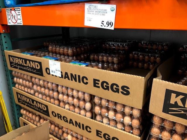 Costcoの大きな卵
