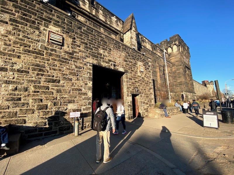 イースタン刑務所の入り口